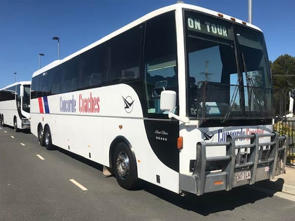 bus and coach hire services